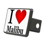 ilovemalibu.png Rectangular Hitch Cover