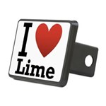 i-love-lime-light-tee.png Rectangular Hitch Cover