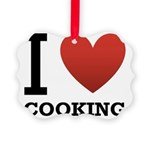 i-love-cooking.png Picture Ornament