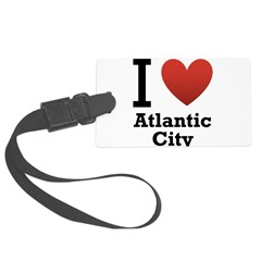 I-Love-Atlantic-City.png Large Luggage Tag