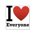ihearteveryone.png Square Sticker 3