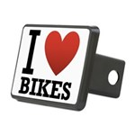 i-love-bikes.png Rectangular Hitch Cover