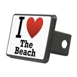 i-love-the-beach.png Rectangular Hitch Cover