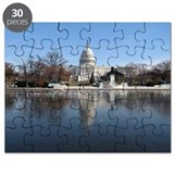 US Capitol Building Winter Photo Puzzle