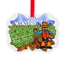 Montana Picture Ornament