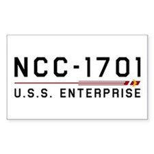 USS Enterprise Original Dark Decal