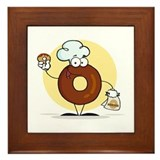 Doughnut Framed Tile