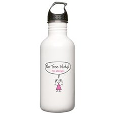 Tree Nut Allergy Stainless Water Bottle for Girls