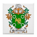 MacConwell Coat of Arms Tile Coaster