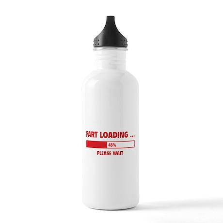 Fart Loading Stainless Water Bottle 1.0L