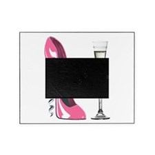Pink Corkscrew Stiletto and Champagne Flute Pictur