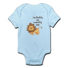 I am fearfully and wonderfully made Infant Bodysui