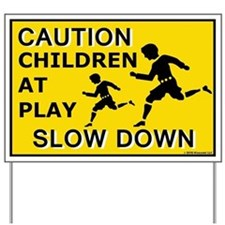 Caution Children At Play (AYS) Yard Sign