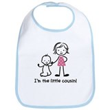 Little Cousin - Stick Figures Bib