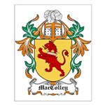 MacColley Coat of Arms Small Poster