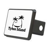Tybee Island GA - Palm Trees Design. Hitch Cover