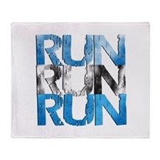 RUN x 3 Throw Blanket