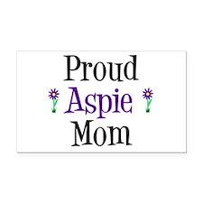 Proud Aspie Mom Rectangle Car Magnet