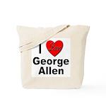 I Love George Allen Tote Bag