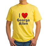 I Love George Allen Yellow T-Shirt