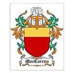 MacCarron Coat of Arms Small Poster