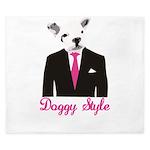 Doggy Style King Duvet