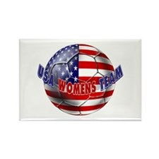 US Womens Soccer Rectangle Magnet