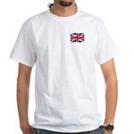 Union Jack UK White T-Shirt