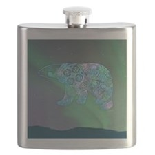 Celtic Polar Bear Flask
