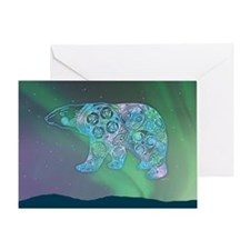 Celtic Polar Bear Greeting Card