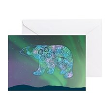 Celtic Polar Bear Greeting Cards (Pk of 10)