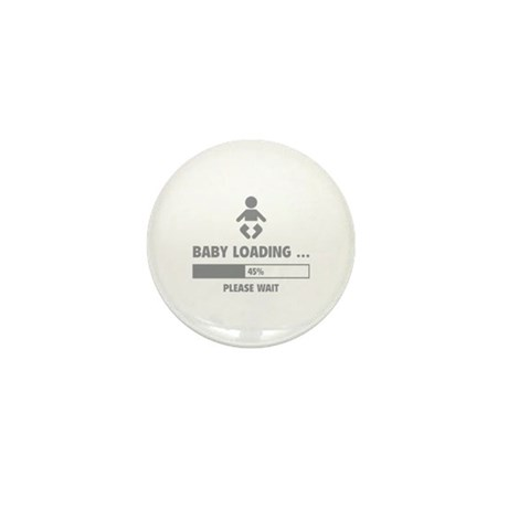 Baby Loading Mini Button (10 pack)
