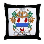 MacArdle Coat of Arms Throw Pillow