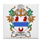MacArdle Coat of Arms Tile Coaster