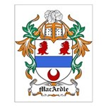 MacArdle Coat of Arms Small Poster