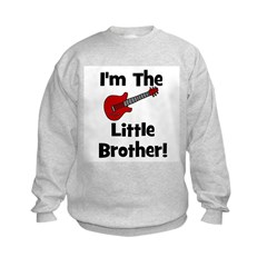 I'm The Little Brother (guita Kids Sweatshirt
