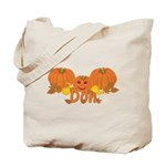 Halloween Pumpkin Don Tote Bag