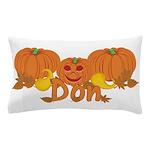 Halloween Pumpkin Don Pillow Case