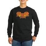 Halloween Pumpkin Don Long Sleeve Dark T-Shirt