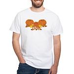 Halloween Pumpkin Don White T-Shirt