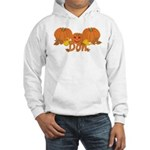 Halloween Pumpkin Don Hooded Sweatshirt