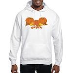 Halloween Pumpkin Don Hooded Sweatshirt