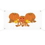 Halloween Pumpkin Don Banner