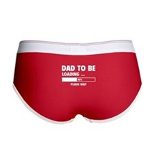 Dad To Be Loading Women's Boy Brief