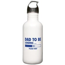 Dad To Be Loading Water Bottle