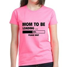 Mom To Be Loading Tee