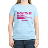 Mom To Be Loading  T-Shirt