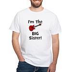 Im the Big Sister (guitar) White T-Shirt