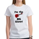 Im the Big Sister (guitar) Women's T-Shirt