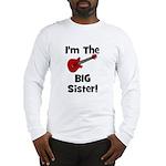 Im the Big Sister (guitar) Long Sleeve T-Shirt